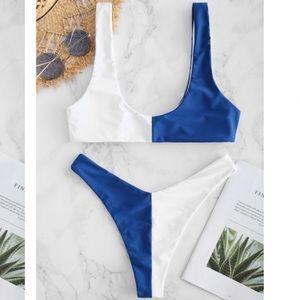 NWT Santorini Two-toned Bikini